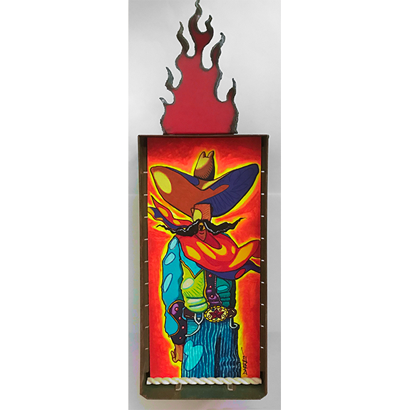 Fuego Machismo Original Painting