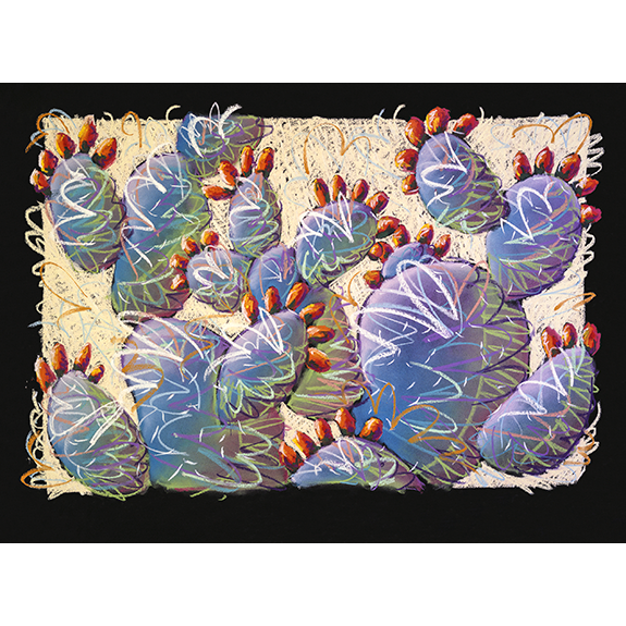 Prickly Party Original Painting